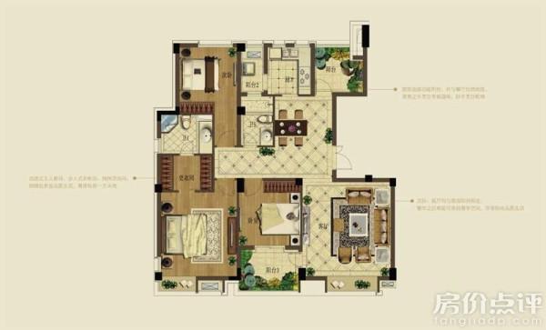 四房一厅一卫卫设计图纸